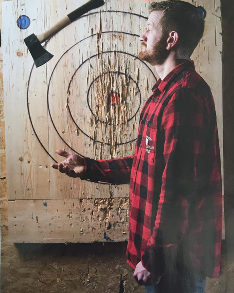 Axe Throwing Carlisle Living Lumber Lounge